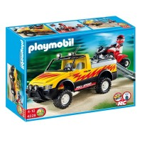 Playmobil 4228 Pick-up con Quad de Carreras