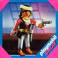 Playmobil 4614 Novia Pirata