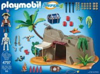 playmobil 4797 - Cueva Pirata