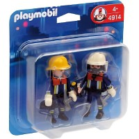 Playmobil 4914 Duo pack bomberos