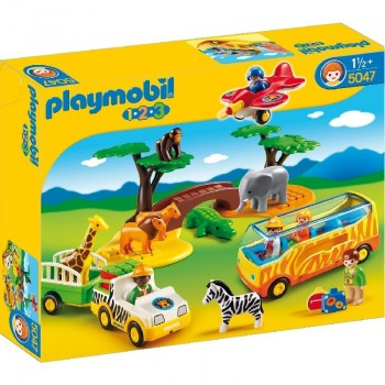 Playmobil 5047 1.2.3 Gran Safari Africano