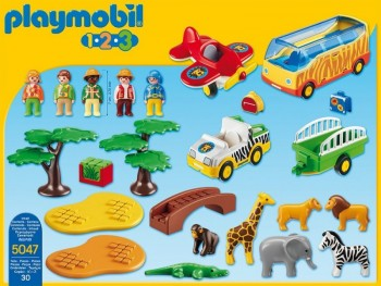 playmobil 5047 - 1.2.3 Gran Safari Africano
