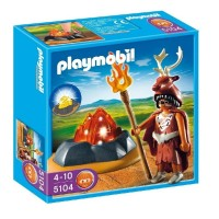 Playmobil 5104 Guardian del fuego