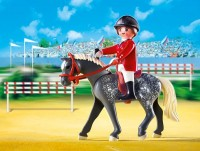 playmobil 5110 - Trakehner con establo marrón