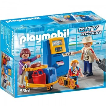 Playmobil 5399 Familia Check-In