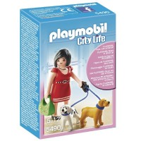 Playmobil 5490 Mujer con Cachorros
