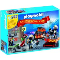 Playmobil 5495 Calendario de Adviento Bomberos