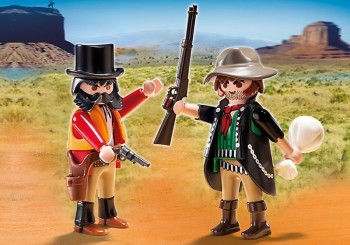 playmobil 5512 - Duo Pack Sheriff y Bandido