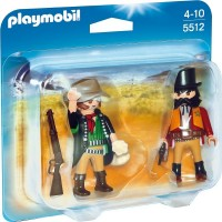 Playmobil 5512 Duo Pack Sheriff y Bandido