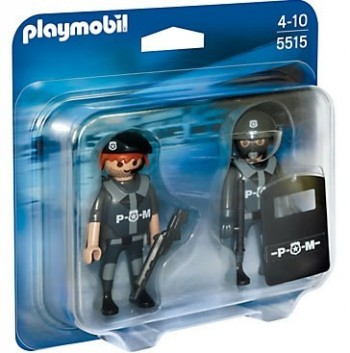 Playmobil 5515 Duo Pack Policías