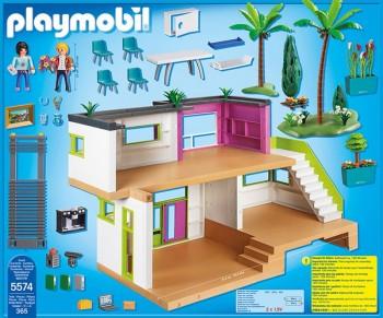 Playmobil 5574 mansi n moderna de lujo for Casa moderna de playmobil 123