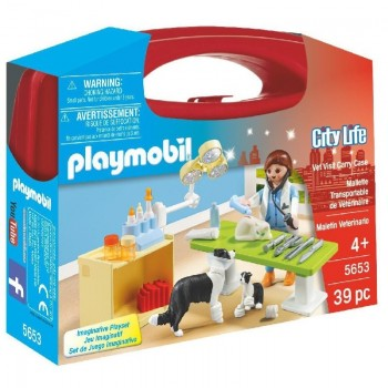 Playmobil 5653 Maletín Veterinaria
