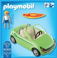playmobil 6069 - Surfista con Descapotable