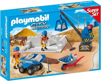Playmobil 6144 Superset Construcción