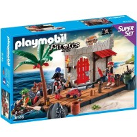 Playmobil 6146 SuperSet Fuerte Pirata