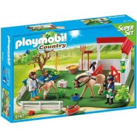 Playmobil 6147 SuperSet Prado de Caballos