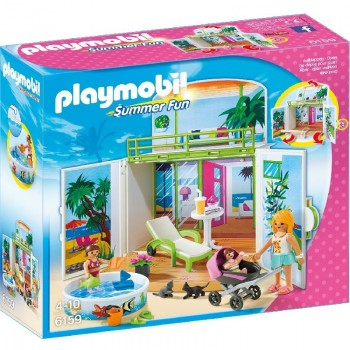 Playmobil 6159 Cofre Bungalow en la Playa