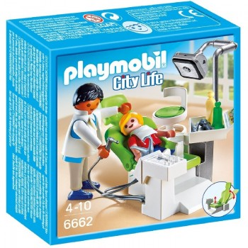 Playmobil 6662 Dentista con Paciente