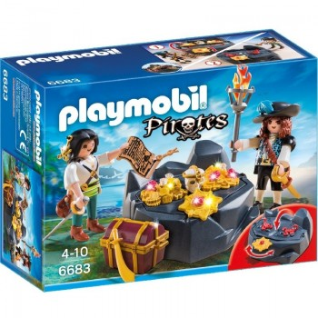 Playmobil 6683 Escondite del Tesoro Pirata