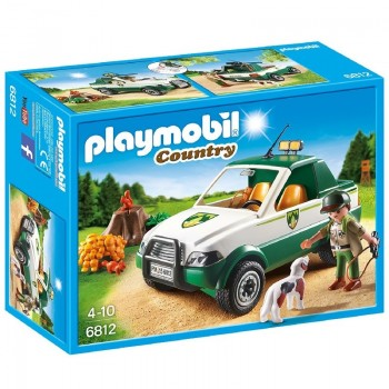 Playmobil 6812 Guardabosques con Pick Up