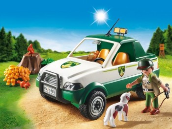 playmobil 6812 - Guardabosques con Pick Up