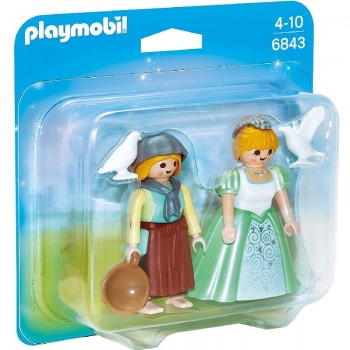 Playmobil 6843 Duo Pack Princesa y Granjera