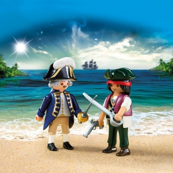 playmobil 6846 - Duo Pack Pirata y Soldado