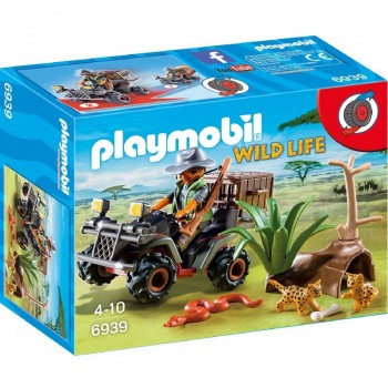 Playmobil 6939 Explorador Furtivo con Quad
