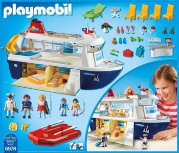Playmobil 6978 barco crucero - Piscina playmobil amazon ...