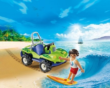playmobil 6982 - Surfista con Quad