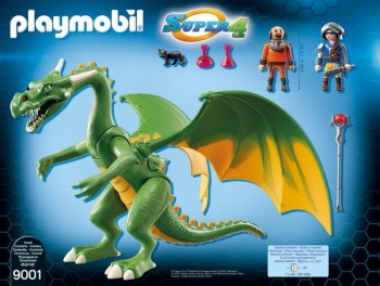 playmobil 9001 - Dragón de Kingsland con Alex