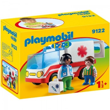 Playmobil 9122 1.2.3 Ambulancia