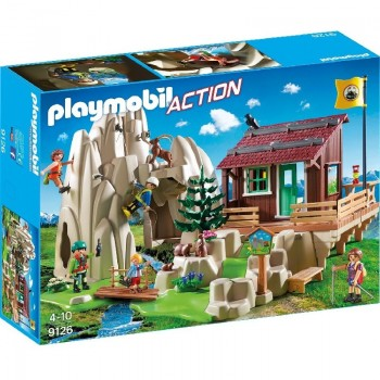 Playmobil 9126 Escaladores con Refugio