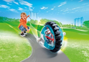 playmobil 9204 - Speed Roller Azul