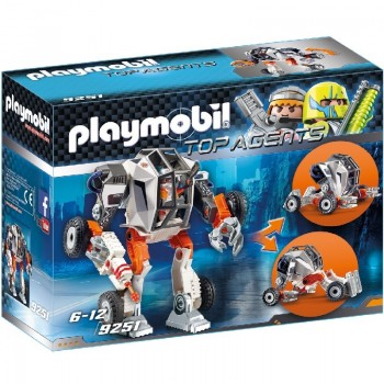 Playmobil 9251 Agente General con Robot