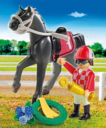 playmobil 9261 - Jockey