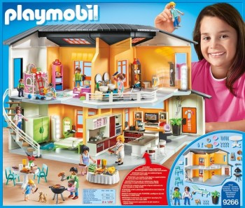 Playmobil 9266 casa moderna for Casa maletin playmobil