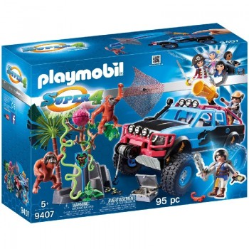 Playmobil 9407 Monster Truck con Alex y Rock Brock