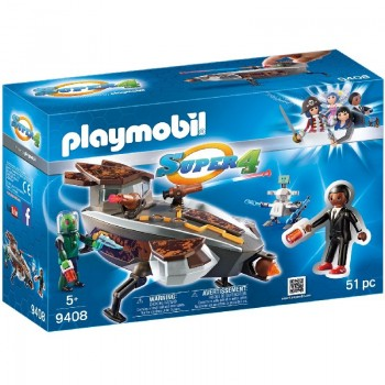 Playmobil 9408 Gene y Sykroniano con Nave