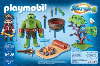 playmobil 9409 - Ogro con Ruby