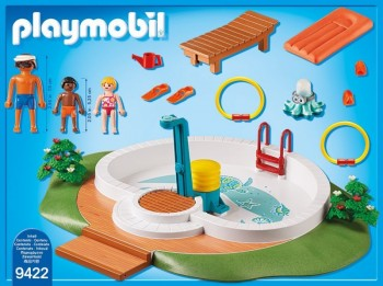 playmobil 9422 - Piscina