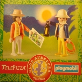 Playmobil 9978 Exploradores Telepizza