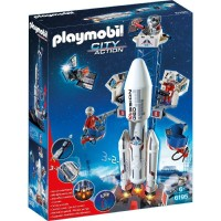 Playmobil 6195 Cohete Espacial con la Estación Base