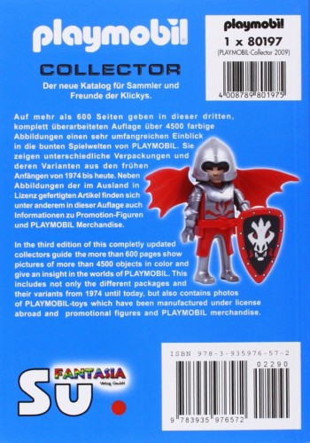 playmobil 7410 - Libro Collector 1974-2009 tapa blanda