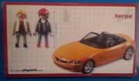 playmobil PCHN - Playcar herpa BMW color naranja