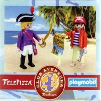 Playmobil TPP Piratas Telepizza