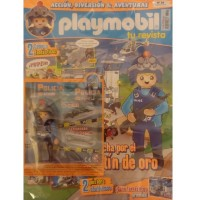 Playmobil n 24 chico Revista Playmobil 24 bimensual chicos