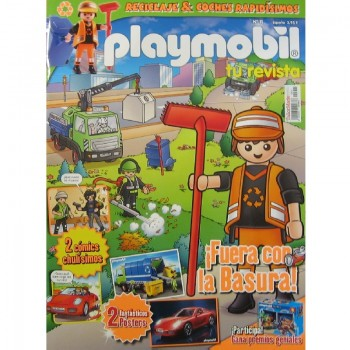 Playmobil n 11 chico Revista Playmobil 11 bimensual chicos
