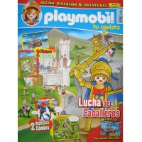 Playmobil n 14 chico Revista Playmobil 14 bimensual chicos