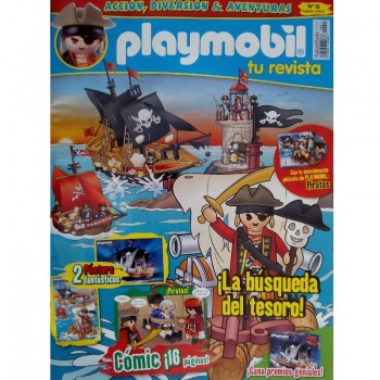 Playmobil n 15 chico Revista Playmobil 15 bimensual chicos